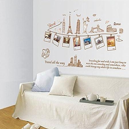 Cosanter fama decorado fresco decorativos pegatinas de pared ...