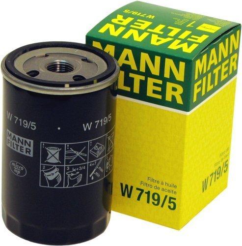 Mann-Filter W 719/5 Spin-on Oil Filter by Mann Filter