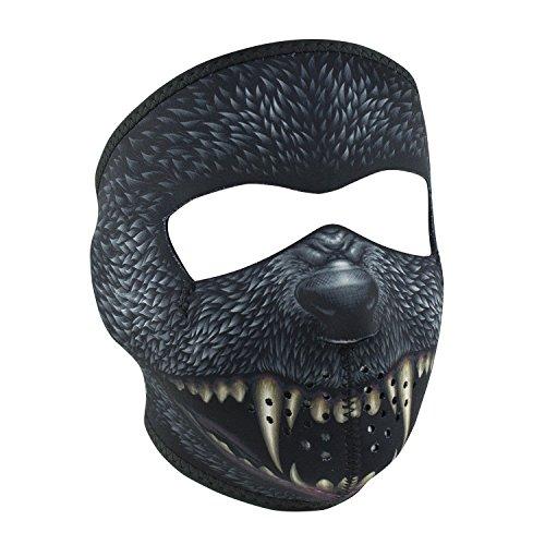 Zanheadgear WNFM416 Adult/Unisex Neoprene Silver Bullet Full Mask