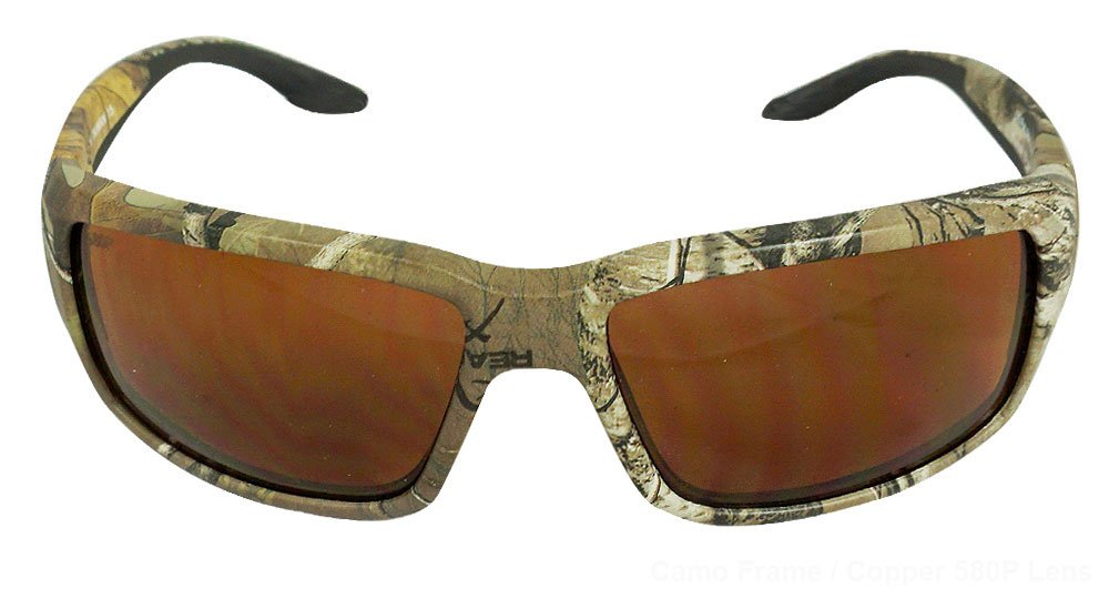 Costa Del Mar Fantail Sunglasses, Realtree Xtra Camo, Copper 580 Plastic Lens