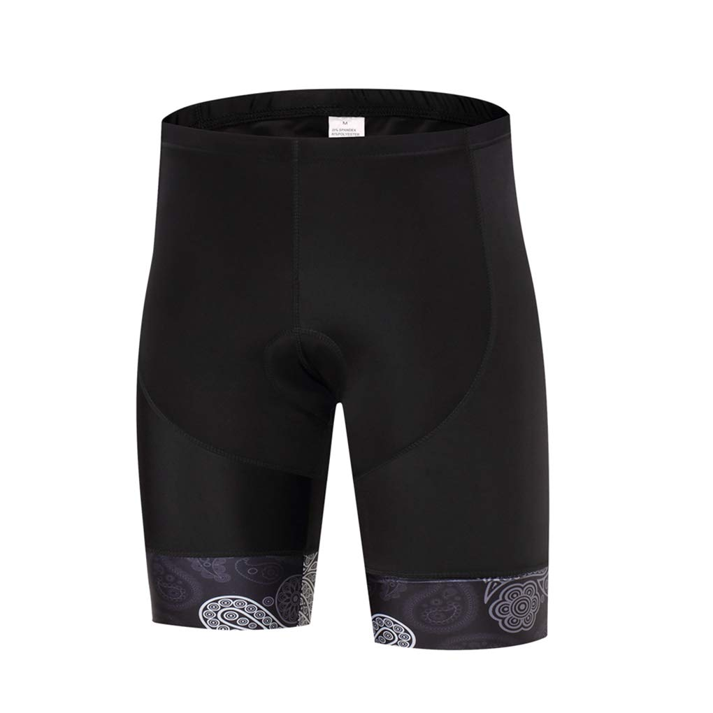 Padded Men Cycling Shorts Quick Dry Breathable MTB Bike Bicycle Bottom Sportwear