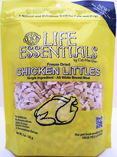 Life Essentials Freeze Dried Chicken Littles by Cat-Man-Doo 5oz 4pk by Cat-Man-Doo