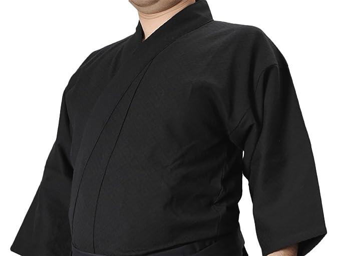 Tozando 'WARA' Cool Lightweight Pure Cotton Black Iaido Gi Jacket - Made in  Japan