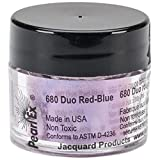 Jacquard Products Jacquard Pearl Ex Powdered Pigments, 3g, Duo Red/Blue