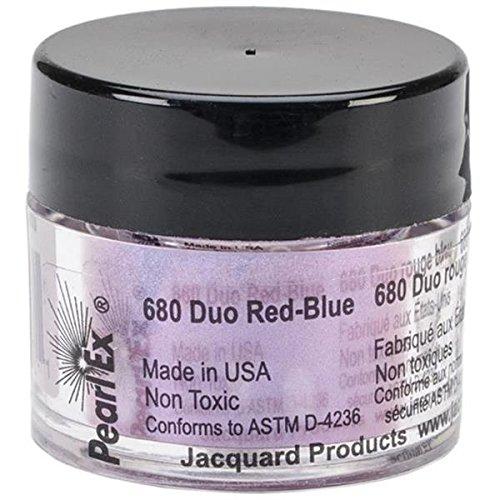 Pigmento Jacquard Pearl Ex 3gr. Duo Rojo Azul