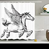 Best Home Comforts Dictionaries - AileenREE Shower Curtains 78 x 72 Inches Etching Review