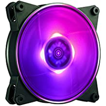 Cooler Master MasterFan Pro 120 Air Balance RGB- 120mm Hybrid RGB Case Fan, Computer Cases CPU Coolers and Radiators
