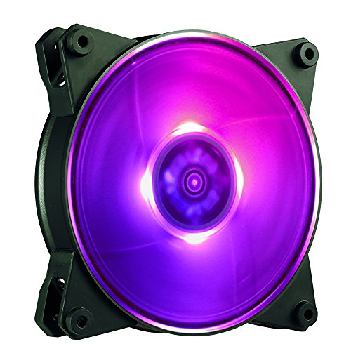 Price comparison product image Cooler Master MasterFan Pro 120 Air Balance RGB- 120mm Hybrid RGB Case Fan,  Computer Cases CPU Coolers and Radiators