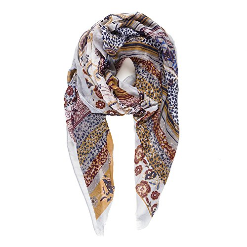 Scarf for Women Lightweight Paisley Fashion Fall Winter Scarves Shawl Wraps (NF10-6) ()