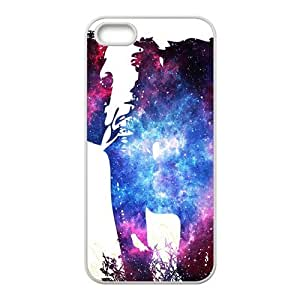 Abstract elephant and skull Cell Phone Case for Iphone 5s