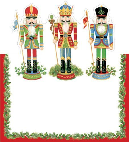 Christmas Place Cards Christmas Party Christmas Dinner Christmas Table Decorations Nutcracker Pk - Card Place Christmas Holders