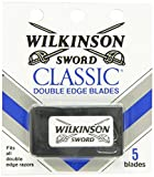 Wilkinson Sword Classic Double Edge Safety Razor Blades (60 Pack of 5 Blades)