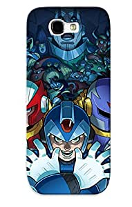 Awesome SXIXZ0GuhTQ Crazylove Defender Tpu Hard Case Cover For Galaxy Note 2- Megaman 8