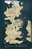 Poster Game of Thrones The seven kingdoms. (61cm x 91,5cm)