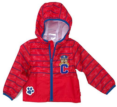 Paw Patrol windjack jongens jas rood 98 104 110 116 3 4 5 6 jaar kinderjas