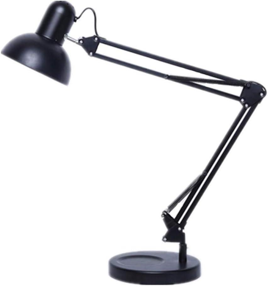 schwarzen gew/öhnlichen Abschnitt Chassis Klappcomputer f/ührte Schreibtischlampe Schreibtischlampe LED9W senden Clip Knopfschalter