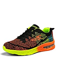 LIN&LV Men Women Athletic Running Sneakers Fashion Couple Sport Air Fitness Workout Gym Jogging Walking Shoes