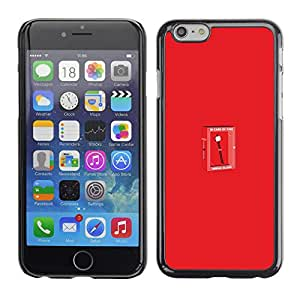Stuss Case / Funda Carcasa protectora - Funny Marshmallow - In Case Of Fire - Apple Iphone 6 Plus 5.5