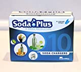 BestWhip Soda Plus CO2 Charger, 60 Count by SodaPlus