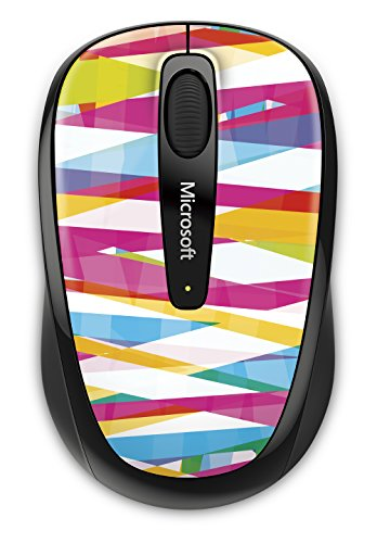 Microsoft Wireless Mobile Mouse 3500 Bandage Stripes
