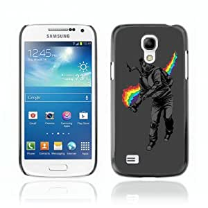 Designer Depo Hard Protection Case for Samsung Galaxy S4 Mini / Rainbow Rebel Cool