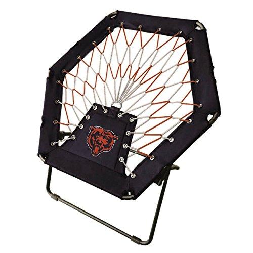 Cheap Plastic Development Group Chicago Bears Black Bungee Chair
