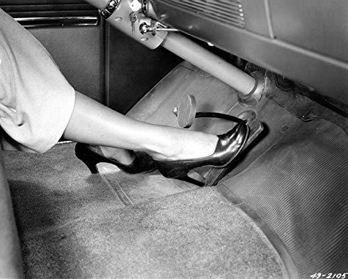 1949 Oldsmobile Front Floor Mat Factory Photo