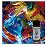 Rainbow Flames Kit - with 6oz. Activator Hydro Film Dip Kit Hydrographics Film - Hydro Dip Film - Hydrographic Film - Water Transfer Printing - Hydro Dipping