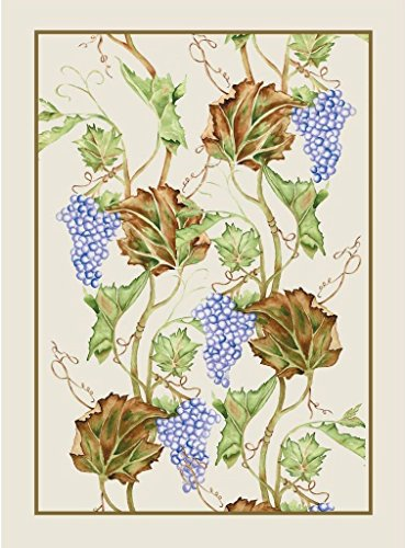 Mierco 8D-Grape European Digital Printed Cotton Tea Towel 20