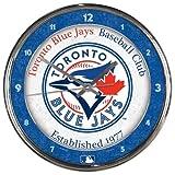MLB Toronto Blue Jays Chrome Clock
