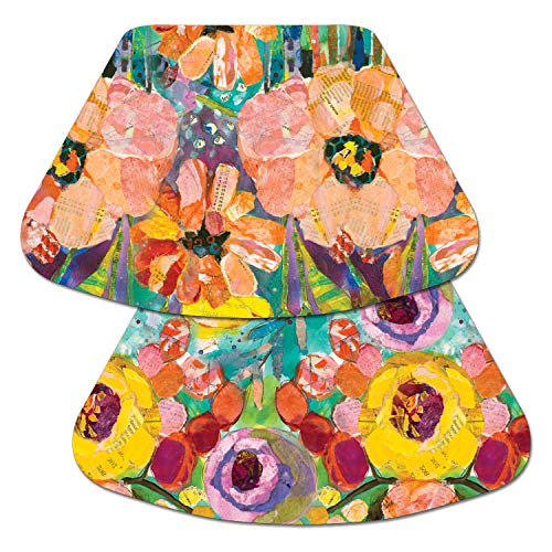 (Counterart Reversible Wedge Placemat - Bold Blooms)