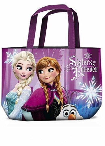 Star Licensing 45393 Disney Frozen Borsa da Spiaggia, 48 cm, Multicolore