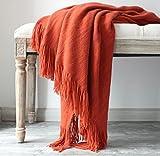 LAGHCAT Solid Blanket Cross Wo