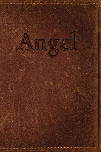 Angel: Simulated Leather Writing Journal (Angel Diary)