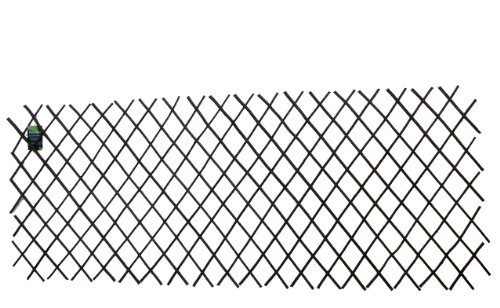 Master Garden Products Willow Expandable Trellis Fence, 36 by 72-Inch by Master Garden Products