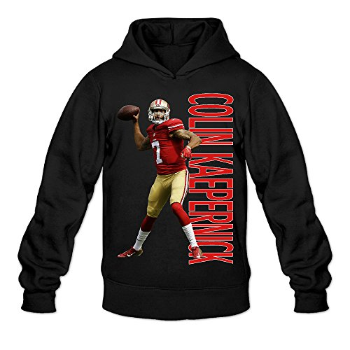 Price comparison product image Show Time Men's Colin Kaepernick Vintage Hooded Black XL