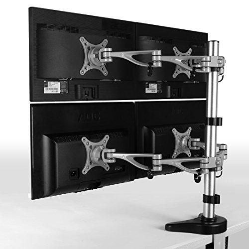 Quad Monitor Desk - 8