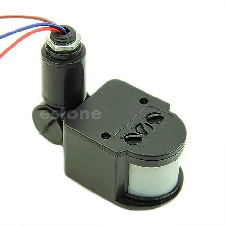 Xuniu Luz del Sensor de Movimiento, luz de Seguridad RF 12M del Detector de Pared