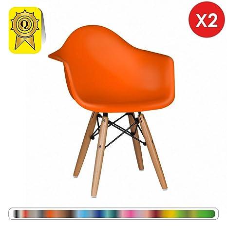 Decopresto Venta 2 x sillón Infantil escandinavo Piernas ...