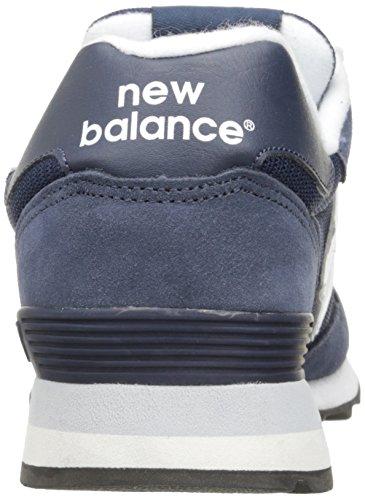 6c4a97a8ddec5 New Balance Men's 515 Core Pack Lifestyle Fashion Sneaker, Navy/White, 10 D