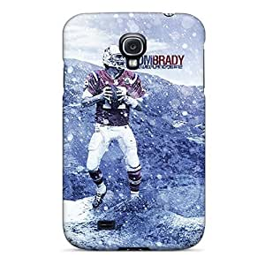 Awesome Nde1392JiUv 167J Defender Tpu Hard Case Cover For Galaxy S4- New England Patriots