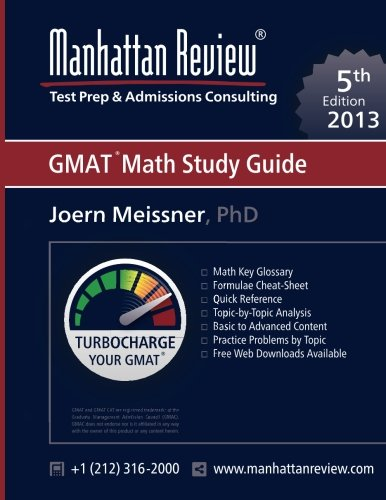 Manhattan Review GMAT Math Study Guide [5th Edition]