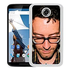 Beautiful Designed Cover Case With Nightlands Glasses Face Bristle Shirt (2) For Google Nexus 6 Phone Case