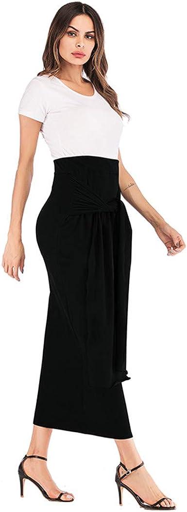 Faldas Largas Plisadas Mujer Vestidos Largos Verano De Fiesta Tallas Grandes Elegantes Cortos Sexy Para Boda Embarazada Vestido Playa Talla Grande Algodon Largo Blanco Faldas Amazon Es Ropa Y Accesorios