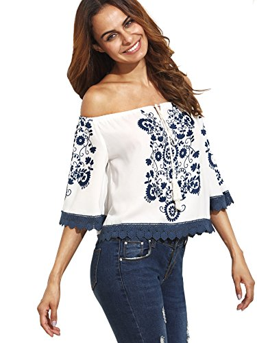 Milumia Womens Casual Shoulder Sleeve