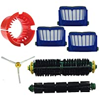 EcoMaid Accessory For Bristle Brush&Flexible Beater Brush&3-armed Side Brush&3 x Aero Vac Filter Cleaning Tool Kit for iRobot Roomba 500 Series Roomba 536 550 55 552 564