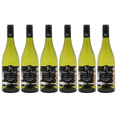 Nika Tiki Sauvignon Blanc White Wine, 75 cl, Case of 6
