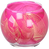 Northern Lights Candles Esque for Breast Cancer Awareness Candle