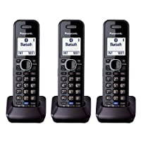 Panasonic KXTGA950B Auricular Dect 6.0 Auricular inalámbrico de 2 líneas de línea fija (paquete de 3)
