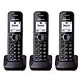 Best 2 Line Cordless Phones - Panasonic KXTGA950B Dect 6.0 Handset 2-Line Landline Cordless Review